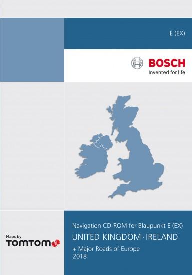 Blaupunkt TravelPilot E Navigation CD UK and Ireland 2018 V15