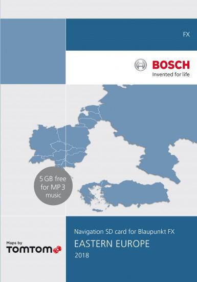 VW RNS 310 Navigation SD 8GB Eastern Europe 2018 V9