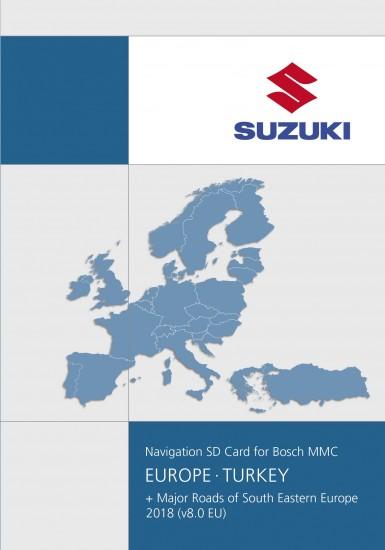 Sd Card Europe 2018 V8 0 Suzuki Sx4 Bosch Mcc System