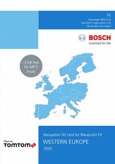 vw rns 310 navigation sd 8gb western europe 2020 v12. Black Bedroom Furniture Sets. Home Design Ideas