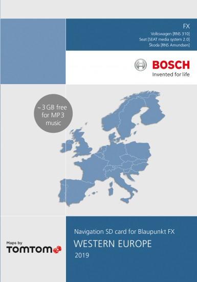 Vw Sd Karte.Vw Rns 310 Navigation Sd 8gb Western Europe 2019 V11