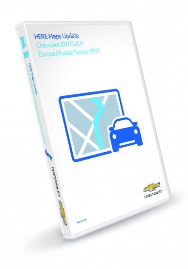 Chevrolet Malibu Entry Nav Touch Europe SD Card 2017